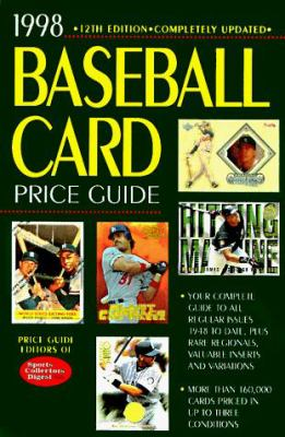 Cover image for Baseball card price guide