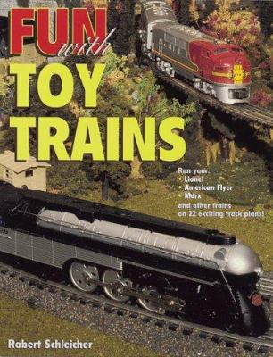 Cover image for Fun with toy trains