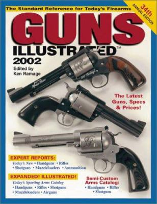 Cover image for Guns illustrated, 2002