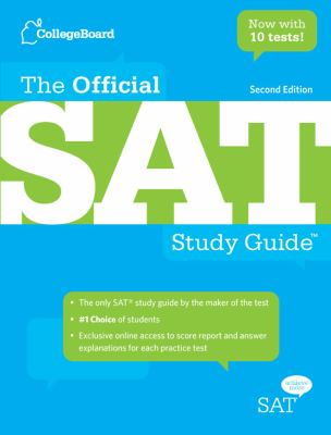 Cover image for The official SAT study guide.