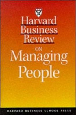 Cover image for Harvard business review on managing people.