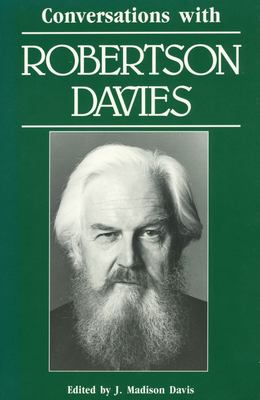 Cover image for Conversations with Robertson Davies