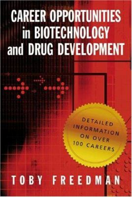 Cover image for Career opportunities in biotechnology and drug development
