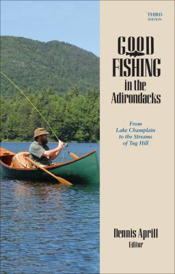 Cover image for Good fishing in the Adirondacks : from Lake Champlain to the streams of Tug Hill