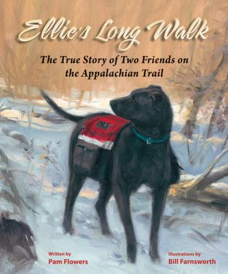 Cover image for Ellie's long walk : the true story of two friends on the Appalachian Trail