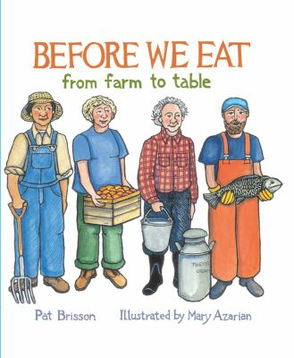 Cover image for Before we eat : from farm to table