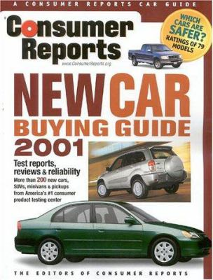 Cover image for Consumer Reports new car buying guide 2001