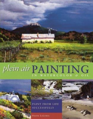 Cover image for Plein air painting in watercolor & oil