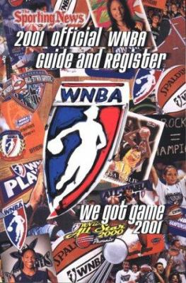 Cover image for Official WNBA guide and register