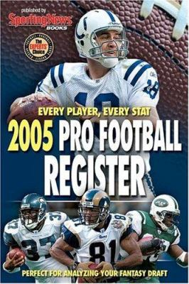 Cover image for Pro football register