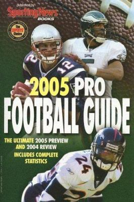 Cover image for Pro football guide