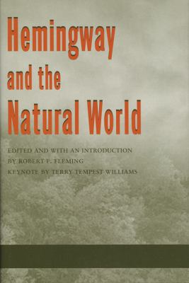 Cover image for Hemingway and the natural world