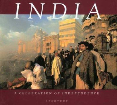 Cover image for India : a celebration of Independence, 1947 to 1997