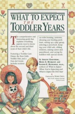 Cover image for What to expect, the toddler years