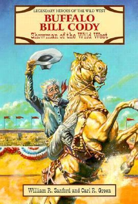 Cover image for Buffalo Bill Cody : showman of the Wild West