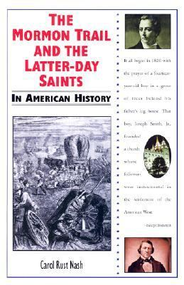 Cover image for The Mormon trail and the Latter-Day Saints in American history