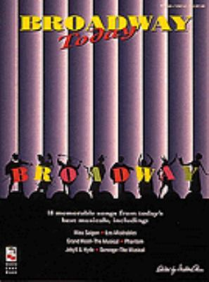 Cover image for Broadway today
