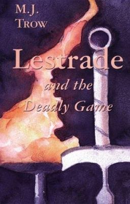 Cover image for Lestrade and the deadly game