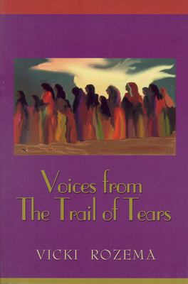 Cover image for Voices from the Trail of Tears