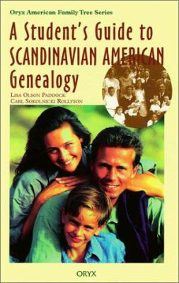 Cover image for A student's guide to Scandinavian American genealogy