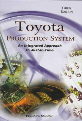 Cover image for Toyota production system : an integrated approach to just-in-time