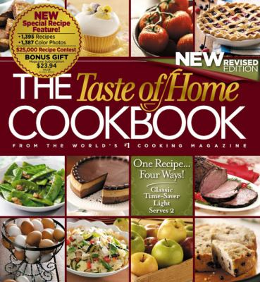 Cover image for The taste of home cookbook : from the world's #1 cooking magazine.