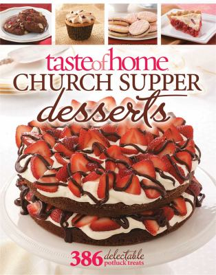 Cover image for Church supper desserts.