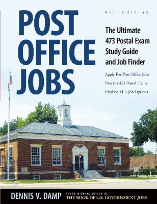 Cover image for Post Office jobs : the ultimate 473 postal exam study guide and job finder