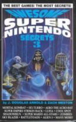 Cover image for Awesome Super Nintendo secrets 3