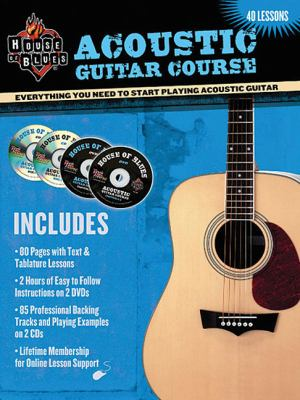 Cover image for Acoustic guitar course