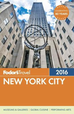 Cover image for Fodor's New York City 2016