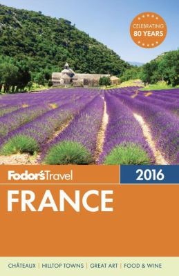 Cover image for Fodor's 2016 France