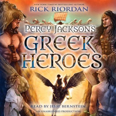 Cover image for Percy Jackson's Greek heroes