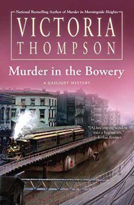 Cover image for Murder in the Bowery