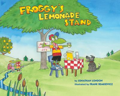 Cover image for Froggy's lemonade stand