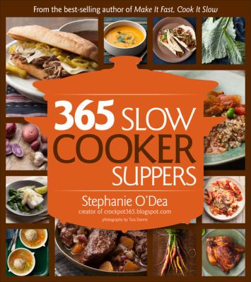 Cover image for 365 slow cooker suppers