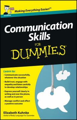Cover image for Communication skills for dummies