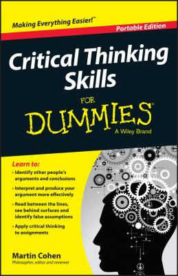 Cover image for Critical thinking skills for dummies