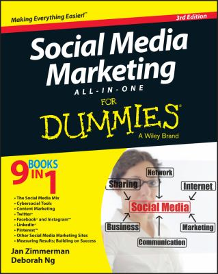 Cover image for Social media marketing all-in-one for dummies