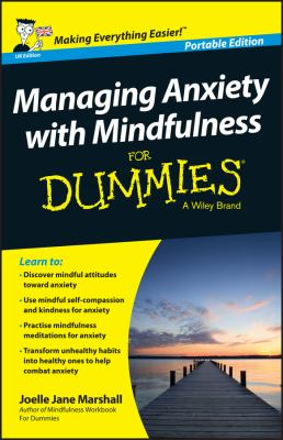 Cover image for Managing anxiety with mindfulness for dummies