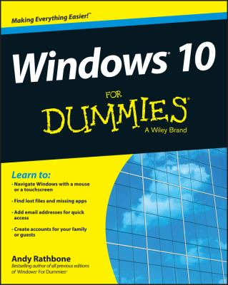 Cover image for Windows 10 for dummies