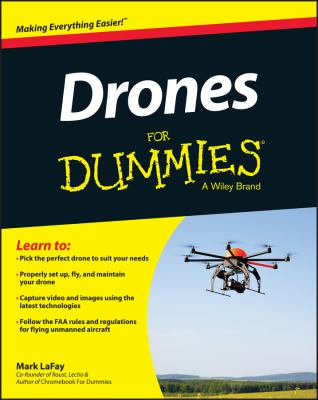 Cover image for Drones for Dummies