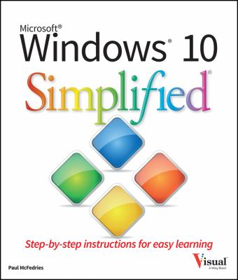 Cover image for Windows 10 simplified