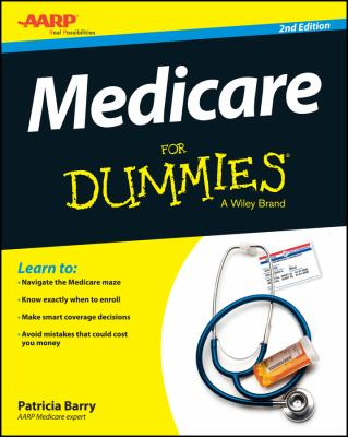 Cover image for Medicare for dummies