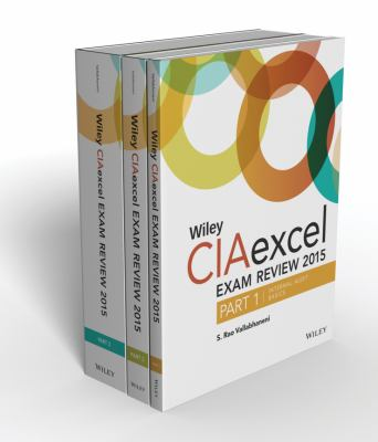 Cover image for Wiley CIAexcel Exam review 2015