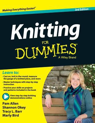 Cover image for Knitting for dummies