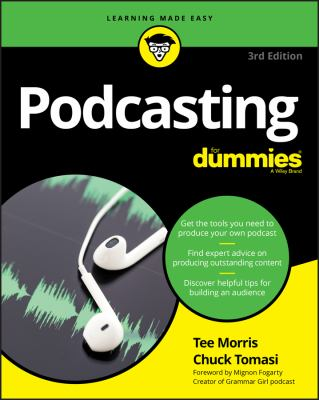 Cover image for Podcasting for dummies