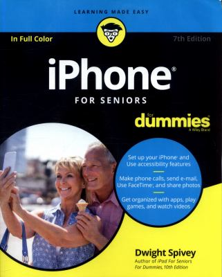 Cover image for iPhone for seniors