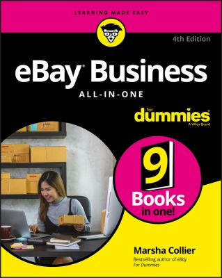 Cover image for eBay business all-in-one for dummies