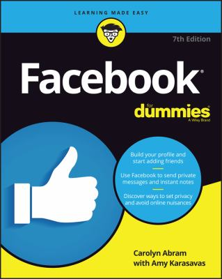Cover image for Facebook for dummies